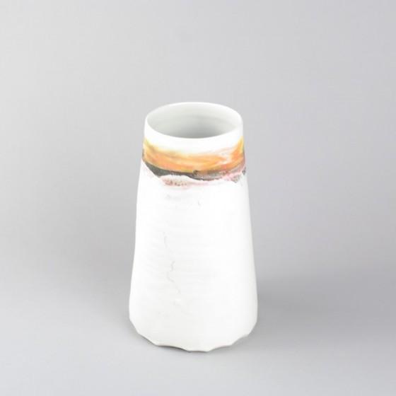 """Vase """" ô ciel """" en porcelaine"""