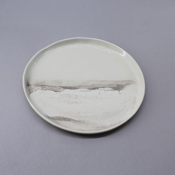 """Assiette plate """"Aléasucs"""" T2"""
