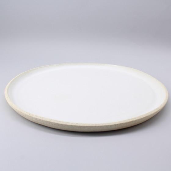Large stoneware plate...