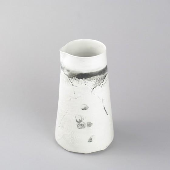 """Pichet porcelaine """" Aléasucs """""""