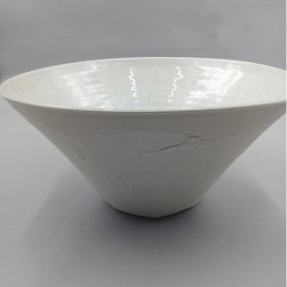 Saladier porcelaine conique...