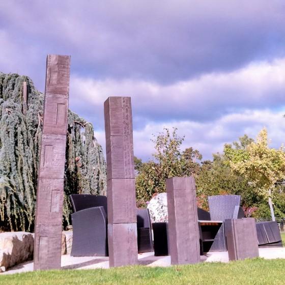 "Sculpture ""Monolith"" made..."