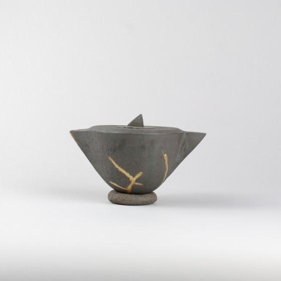 eapot and kintsugi bowl