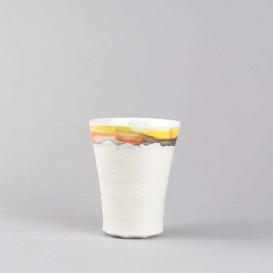Porcelain handmade mug