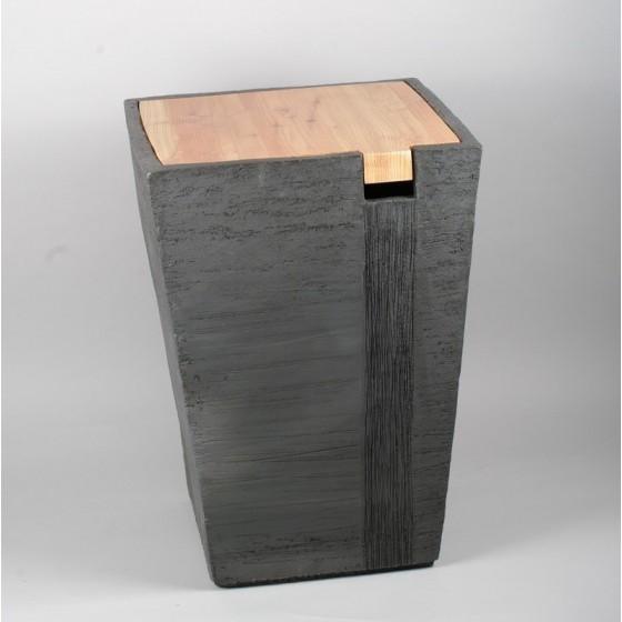 Table coffre céramique et...